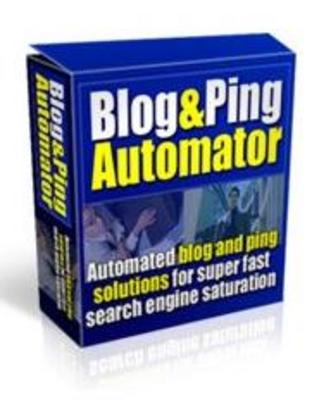 Product picture Blog & Ping Automator