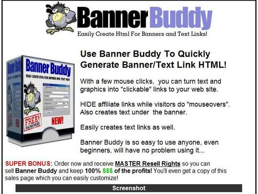 Product picture Banner Buddy